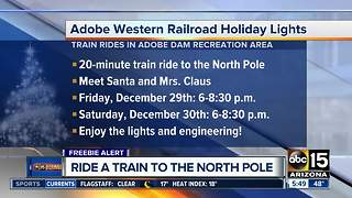 Ride a train to the North Police right here in Arizona - Video