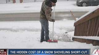 Angie's List: the hidden cost of a snow shoveling short-cut - Video