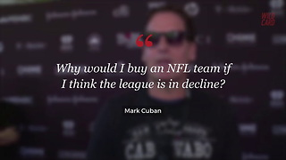 Mark Cuban Answers Rumors About Pursuing NFL Team - Video