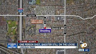 One person shot, shooter still on loose in Lincoln Park - Video