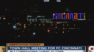 Town hall meeting with Major League Soccer commissioner