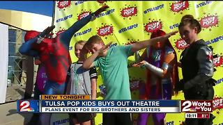 Tulsa Pop Kids buys out Tulsa theater - Video