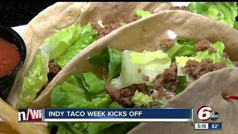 Get half-priced tacos during Indy Taco Week 2017