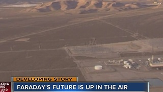 Work stops at Faraday Future factory site outside Las Vegas - Video