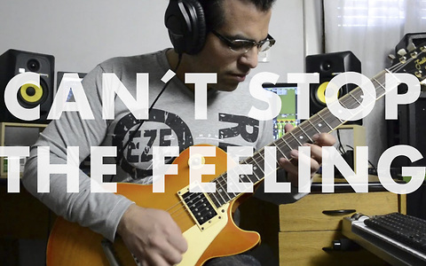 Justin Timberlake's 'Can't Stop The Feeling' gets electric guitar cover