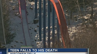 Teen killed in fall from slide at Mt. Olympus in Wis. Dells was 16-year-old visiting from Florida - Video