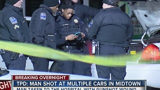 Tulsa Police searching for man after midtown shooting - Video