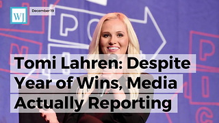 Tomi Lahren: Despite Year Of Wins, Media Actually Reporting Trump Success Would Be 'Christmas Miracle' - Video