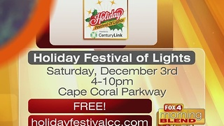 CenturyLink Holiday Festival of Lights 11/29/16 - Video