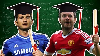 Top 10 Most Intelligent Footballers | Mata, Lampard & Cruyff - Video