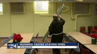 Warming centers stay open for second night - Video