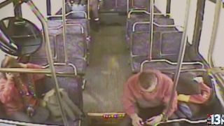 E-cig bursts into flames on bus - Video