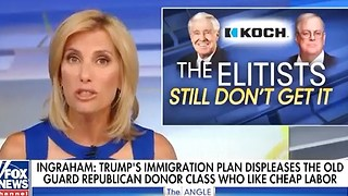 Laura Ingraham slams Koch brothers for defying Trump. - Video