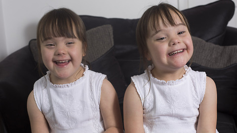 Down's Syndrome Twins Are One In A Million: BORN DIFFERENT