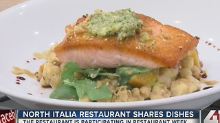 KC Restaurant Week: North Italia Restaurant shares their dishes - Video