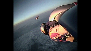 Man Skydives 22 Miles - Video
