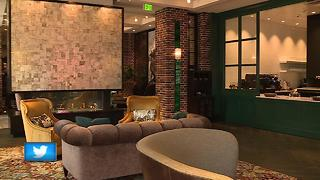 Get an inside look at the new Lodge Kohler hotel in the Titletown District - Video