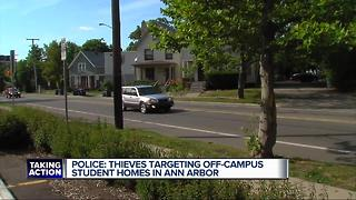 Four home invasions reported near University of Michigan - Video