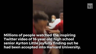 YouTube Exec Offers 16-Yr-Old Job Following Acceptance to Harvard - Video