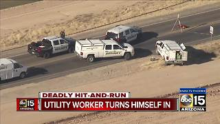 Suspect from San Tan Valley deadly hit-and-run turns himself in - Video