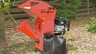 How To Make Your Own Mulch With A Chipper Shredder - Video