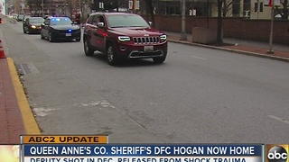 Queen Anne's County sheriff's deputy released from Shock Trauma - Video
