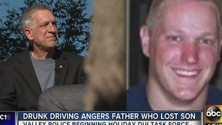 Family warning others about the dangers of driving drunk - Video