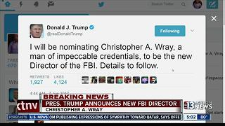 President Trump nominates new FBI director