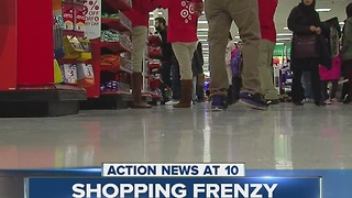 Shopping frenzy underway - Video