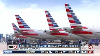 Airplane farter causes evacuation - Video