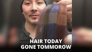 Proof: Straighteners ruin hair color in FIVE seconds