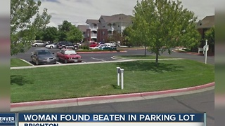 Woman found in Brighton parking lot with severe head wounds - Video