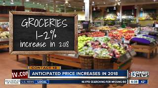 Items that are increasing prices in 2018 - Video