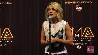 Carrie Underwood talks about Father's Day | Rare Country - Video