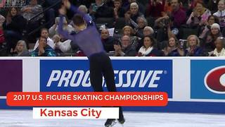 Video: 2017 U.S. Figure Skating Championships in Kansas City - Video