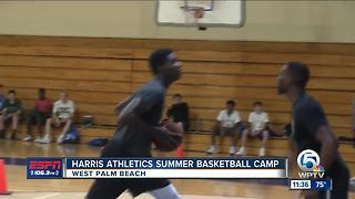 Harris Basketball Camp underway - Video