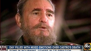 Arizonans react to Fidel Castro's death - Video