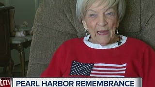 Las Vegas woman at Pearl Harbor remembers the attacks on 75th anniversary - Video