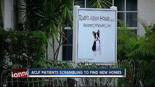 ACLF patients scrambling to find new homes - Video