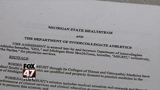 Larry Nassar contract with Michigan State University gymnastics obtained