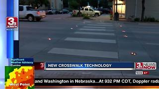 New crosswalk safety device in Papillion - Video
