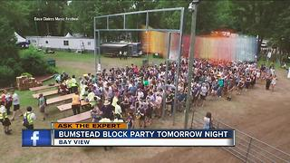 Bay View restaurant to host block party