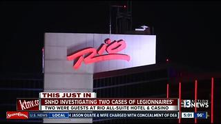 2 Rio Las Vegas guests contract Legionnaires' disease - Video