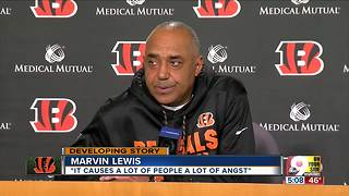 Marvin Lewis dodges questions about  job future - Video