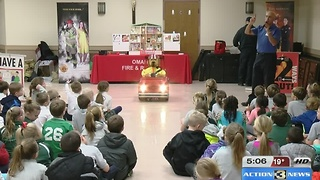 Children learn safety in memory of Aspen Seemann - Video