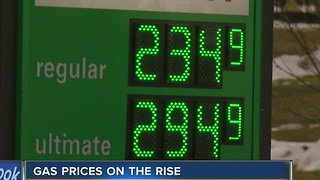 Gas prices back on the rise - Video