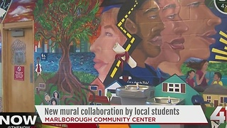 KC teens paint mural for positive change - Video