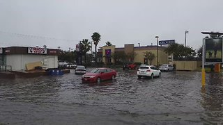 Rain Records Set in Galveston, Flash Flood Warnings in Place - Video