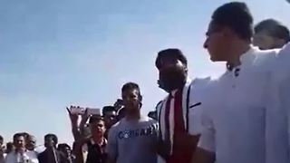 Protest gathering of thousands from across the country at Cyrus' tomb -3 - Video