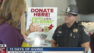 13 Days of Giving with Trooper Loy Hixon - Video